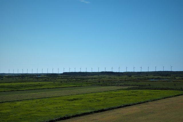 オトンルイ風力発電所(正面)