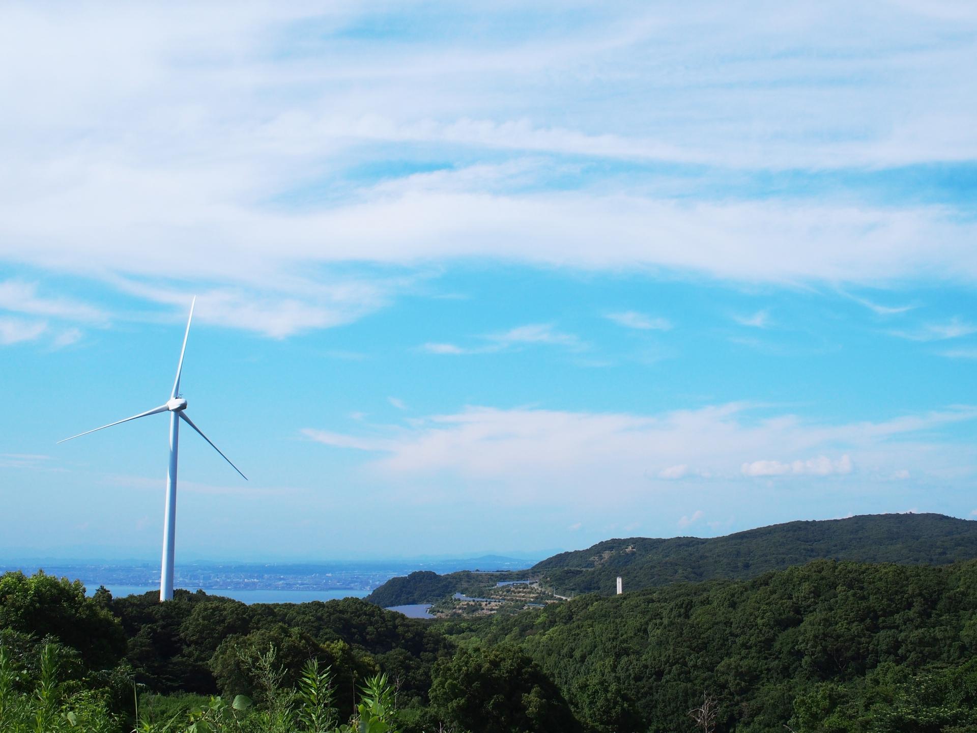 淡路風力発電所