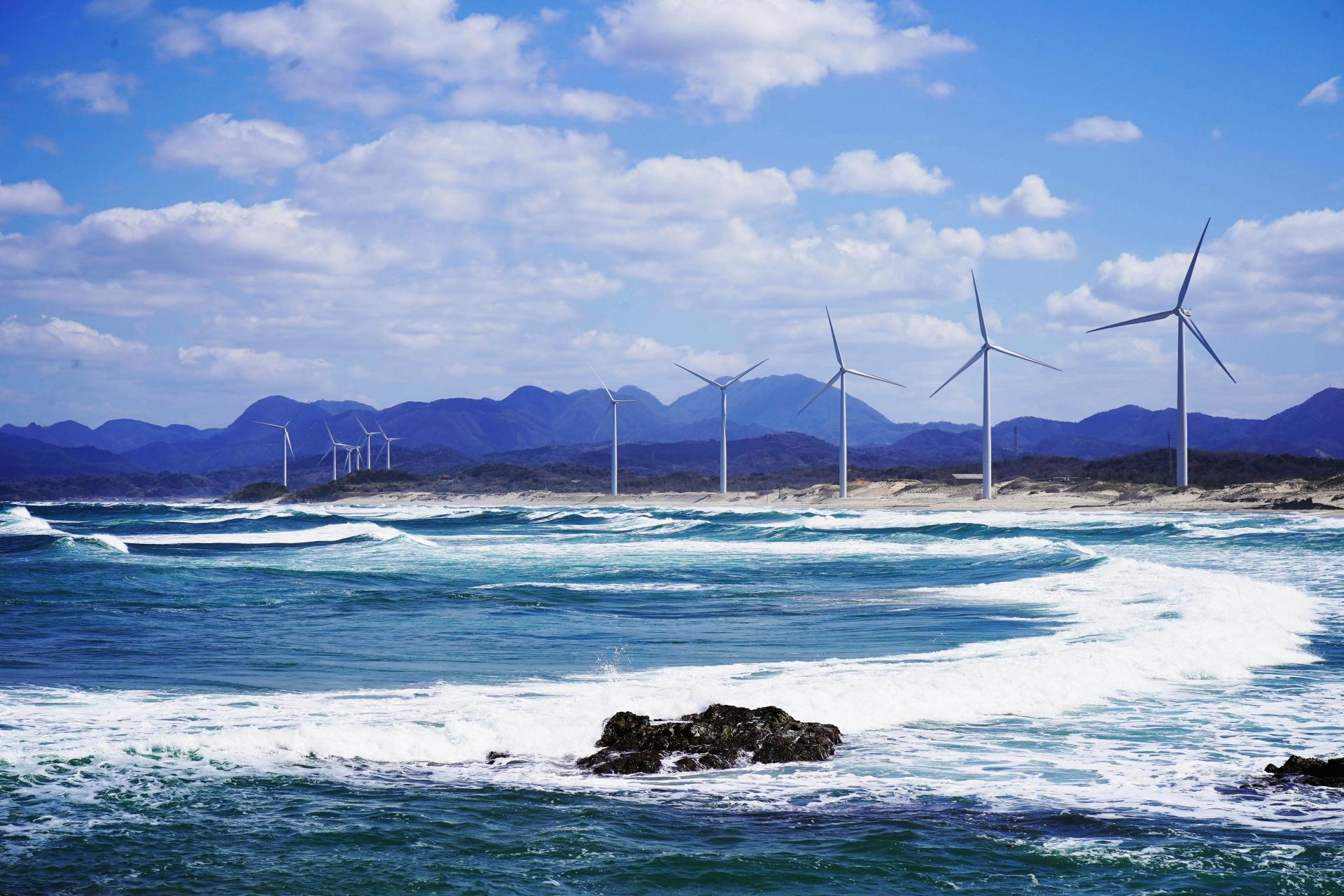 江津東ウインドファーム風力発電所